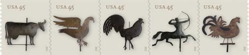 Серия марок США в 45 центов