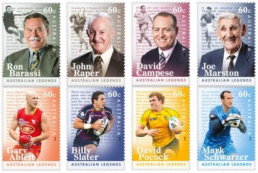 Серия марок о футболе