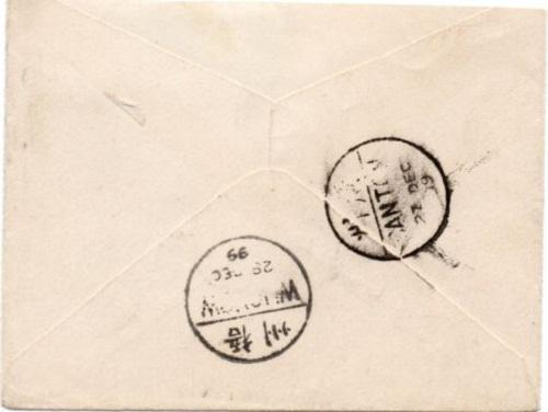Оборот конверта Китая