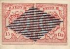 Марка Швейцарии 1852 г.