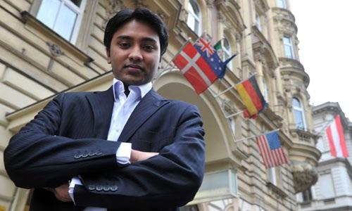 Самый молодой председатель совета директоров крупной компании Сухас Гопинат