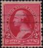 Почтовая марка США 1890 года с браком
