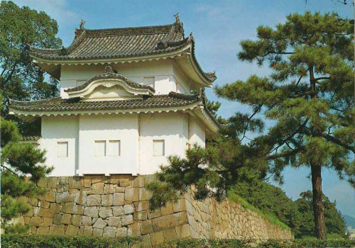 """Посткроссинг: почтовая открытка из Японии """"Замок Ниджо"""""""
