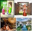 """Почтовые марки """"Европа"""" 2012 года"""