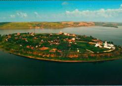 """Посткроссинг: почтовая открытка """"Остров-град Свияжск"""""""