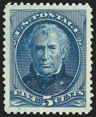 Почтовая марка США с президентом Закари Тейлором
