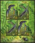 Почтовые марки Беларуси с изображением тритонов