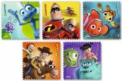 Серия почтовых марок США, посвященная мультфильмам Дисней Пиксар
