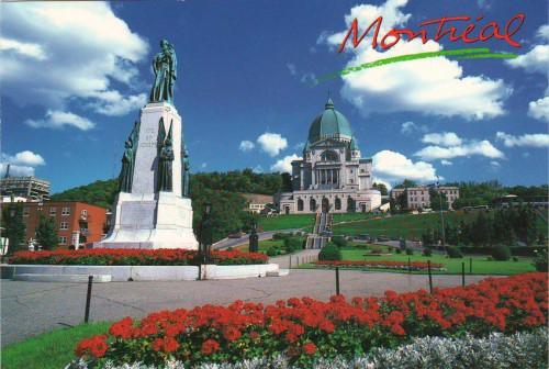 """Посткроссинг: почтовая октрытка Канады """"Собор Святого Иосифа"""""""