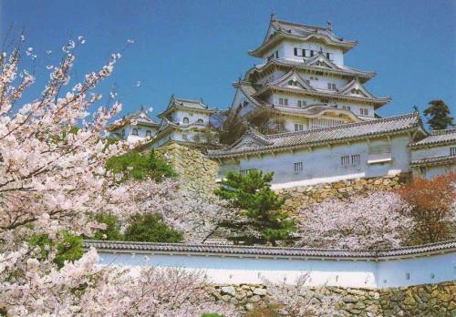 """Посткроссинг: почтовая открытка Японии """"Замок Химедзи"""""""
