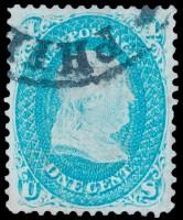 """Дорогая почтовая марка США """"Святой Грааль"""""""