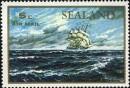 Почтовая марка Силанда с изображением корабля