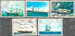 Серия почтовых марок Силенда с кораблями