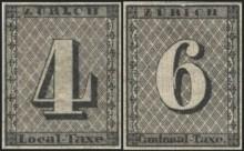 Первые почтовые марки Швейцарии