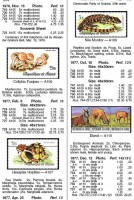 """Страница из каталога почтовых марок """"Скотт"""""""