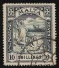 """Почтовая марка колонии Великобритании - Мальты """"Святой Павел"""""""