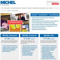 "Страница онлайн каталога ""Михель"""