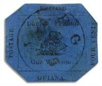 восьмиугольная марка