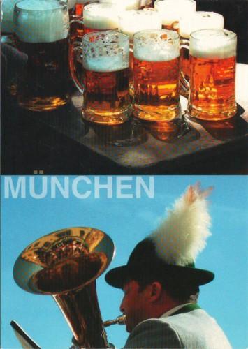 открытка Мюнхен