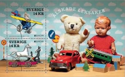 Марка Швеции Игрушки
