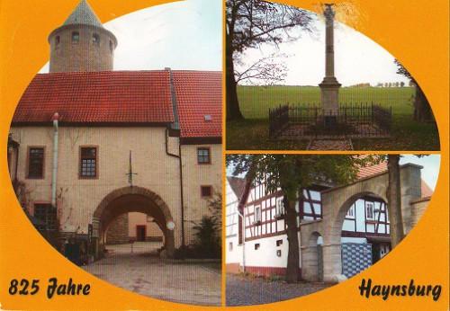 """Посткроссинг: почтовая открытка Германии """"Хайнсбург"""""""