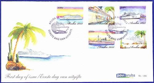 КПД острова Аруба с кораблями