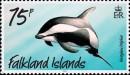 Почтовая марка Фолклендских островов с дельфином