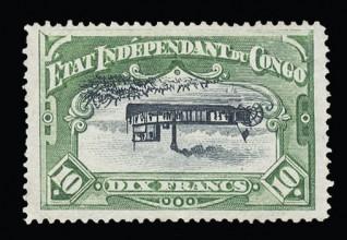 Почтовая марка Бельгийского Конго
