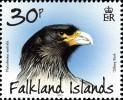 Марка Фолклендских островов с соколом