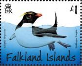Марка Фолклендских островов пингвин