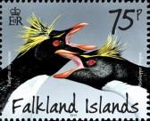 Марка Фолклендских островов - пингвины
