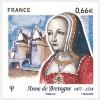 Анна на марке Франции