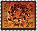 Год Змеи на марке Литвы