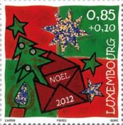 Новогодная марка Люксембурга
