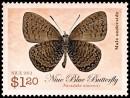 Марка Ниуэ - бабочка