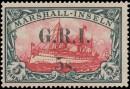 Почтовая марка колонии - Нововй Гвинеи с надпечаткой