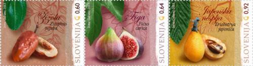 марки Словении - флора