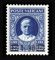Почтовая марка Ватикана