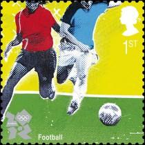 Футбол на марке Великобритании