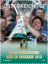 Футбол на марке Австрии