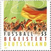 Футбол на марке Германии