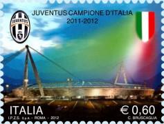Футбол на марке Италии