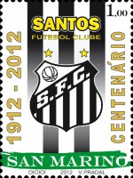 Футбол на марке Сан-Марино