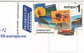 марка Нидерландов посткроссинг