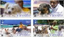 Почтовые марки Вануату - собаки