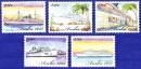 Марки острова Аруба с кораблями