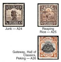 Почтовые марки Китая 1915 г. в каталоге Скотта