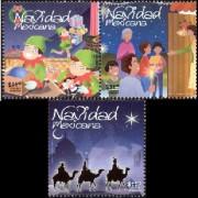 Новогодние марки Мексики