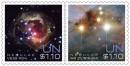 марки ООН - космос