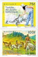 Фауна на почтовых марках Французской Полинезии